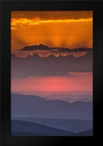 WV, Davis Sunrise on Dolly Sods Wilderness Area Framed Art Print by Obrien, Jay