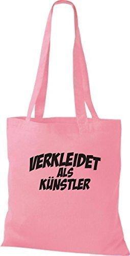 Camiseta InStyle bolsa de carnaval Calidad como artista, decoraciones disfrazaran, varios colores rosa - rosa