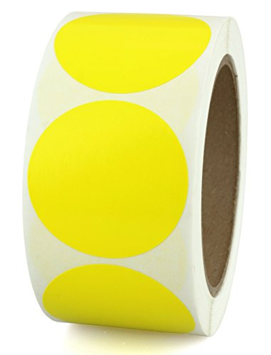 Yellow Blank Labels - 8