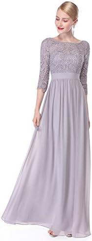 لباس شب همیشه آستین بلند توری تاشو 08412
