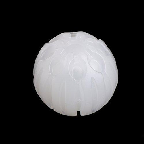 OTGO Pet Dog Flash Light Play Fun Ball Rubber Puppy Toy Bouncing Chew Training Glow Shake (Ball Bouncing Flash)