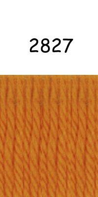 Woolybaabaa Dale of Norway Heilo Yarn - 100% Pure New Norwegian Wool, Golden Orange