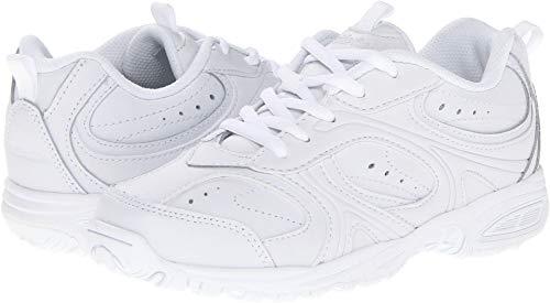 Stride Rite Cooper Lace Sneaker (Toddler/Little Kid/Big Kid),White,1 XW US Little Kid