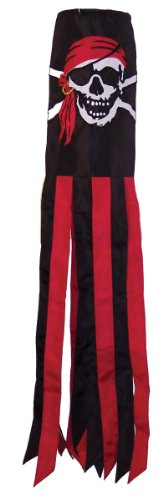 In the Breeze I'm a Jolly Roger Windsock, 40-Inch