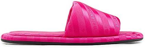 Balenciaga Sandali Donna Hotel Logo Slides Sandals Made In Italy Eur 36