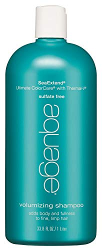 (AQUAGE SeaExtend Silkening Shampoo, 33.8 oz.)