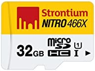 Strontium Nitro 32GB Class 10 UHS-1 MicroSDHC Memory Card without Adapter