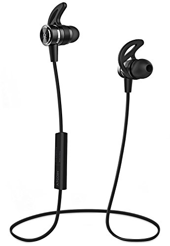 Bluetooth Headphones, Wireless Headphones, ATGOIN Wireless Bluetooth Earphones Stereo Sweatproof Magnetic Earbuds...