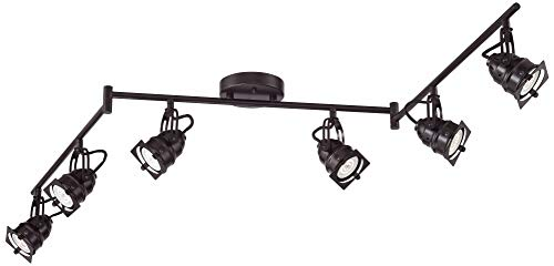 Hamilton 6-Light Bronze Swing Arm LED Track Light Kit - Pro Track by Pro Track (Image #5)