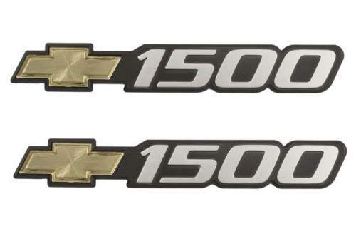 1999-2007 Chevy Truck Silverado Suburban 1500 Exterior Side Door Emblems - Pair