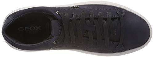 Deiven U Alto C4002 A Geox Blu Uomo Navy Collo a Sneaker wTqdY
