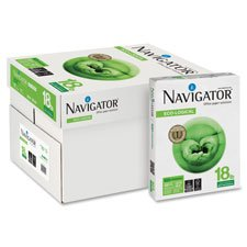 "Multipurpose Copy Paper, 18lb, 8-1/2""x11"", 10RM/CT, WE, Sold as 1 Carton, 10 Each per Carton"