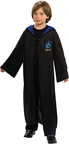 Harry Potter Ravenclaw Robe Costumes (Harry Potter Child's Ravenclaw Robe - One Color - Large)
