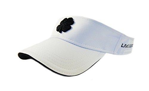 Black Clover Live Lucky Golf Visor (White/Black 1V)