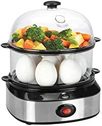 Egg Cooker, PowerDoF ZDQ-702A Multifunctional Dual Layer Electric Egg Cooker with 14...
