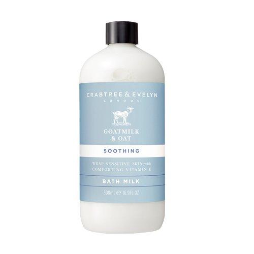 Crabtree & Evelyn Bath Milk, Goatmilk & Oat, 16.9 Fl Oz 16.9 Ounce Milk Bath