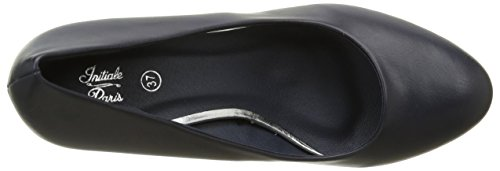 Initiale Sotida - Zapatos de vestir Mujer Negro mate