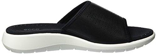 Ecco Damessandalen Soft 5 Slide Sandaal Zwart