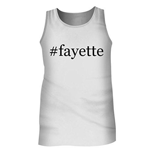 Tracy Gifts #Fayette - Men's Hashtag Adult Tank Top, White, - Wv Mall
