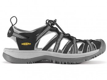 Keen Women's Whisper Sandal Black/Neutral Gray 8.5