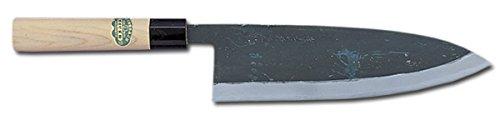 Sakai Takayuki Japanese Knife Tokujou Yasuki White-2 Steel Kurouchi Salmon 03133 Sake Kiri 240mm by Sakai Takayuki