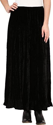 Double D Ranchwear Women's Boot Skirt Black Skirt SM by Double D Ranchwear