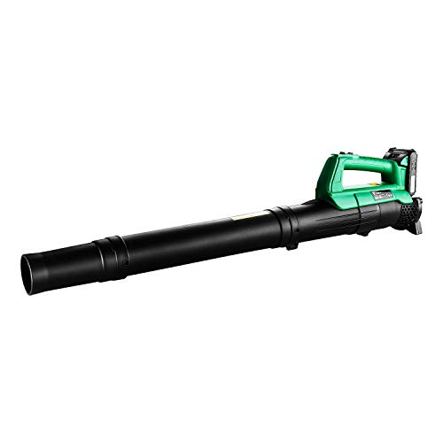 DEKO Li-ion Battery Cordless Leaf Blower Cordless String Blower 20V 1500mAh Electric Air Blower Cordless Sweeper Garden Tools