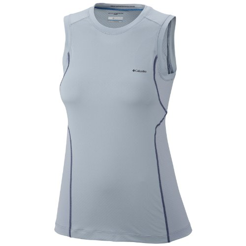 Columbia Coolest Cool Sleeveless Top Shirt, Mirage, X-Small
