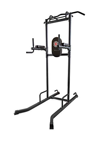 UXT Ultimate Power Tower with 8-Grip Pull Up Bar, Dipping Station, VKR, Push Up Handles, Parallels
