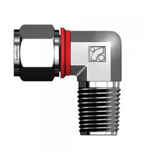 Superlok SMEI - 316 Stainless Steel Tube Compression Male Connector Elbow 90 - Built in Gap Gauge - 3/8
