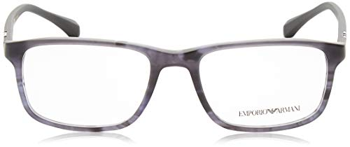 3098 hombre acetato Geométrico EA With Lens Bluee Demo Matte Striped Emporio Armani XqpwgwE