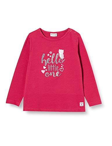 SALT AND PEPPER Longsleeve Cosy hello Glitter baby-meisjes hemd