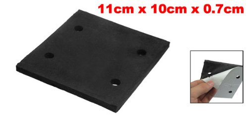 uxcell A12110600ux0054 Black Foam Replacement Sander Back Pad Sanding Machine Mat for Makita 4510