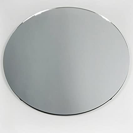 Superbe Homeford FGV0MR18RCLR Round Mirror Base Centerpiece, 18u0026quot;