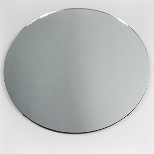 """Homeford FNS007353CLR Round Mirror Base Centerpiece, 14"""""""