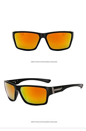 Gafas de de Fliegend Sol Gafas UV400 Deportivas Ultra Rojo Mujer para de Gafas Sol Vintage Polarizadas de Gafas Retro sol Ligero Sol Hombre Unisex AOqTCwqd