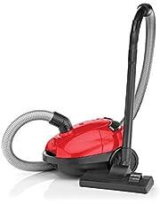 مكنسة كهربائية مع كيس بقدرة 1000 واط من بلاك اند ديكر، لون احمر واسود، موديل Vm1200-B5
