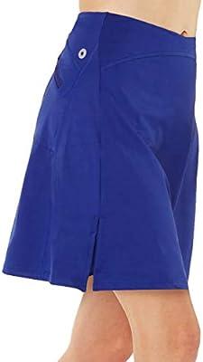 Honofash Falda de Golf Tenis Skort Mujer Negra Negra Pantalón Ropa ...