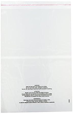 Amazon.com: Uline S-19132, bolsas de polietileno ...