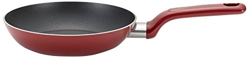 T-fal C51402 Excite Nonstick Thermo-Spot Dishwasher Safe Oven Safe PFOA Free Fry Pan Cookware, 8-Inch, Red
