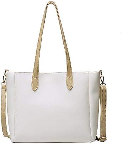 トレンディなブランドのバッグ、新しいトレンディな女性、ワンショルダーメッセンジャーバッグ、スーパー火災バッグ、ファッショナブルネット赤いポータブルトートバッグ、若々しいシンプルかつキュート (Color : Beige+(White))