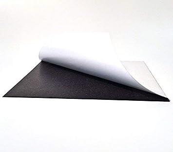 0,9mm x 420mm x 594mm Magnetfolien 1x roh selbstklebend DIN A2 Magnetfolie