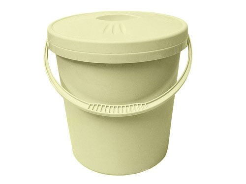 Junior Joy Nappy Pail with Lid (Cream) 6192CR