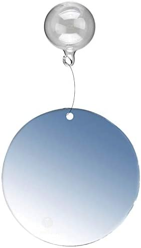 SunGrow Betta Mirror, 2.3 Circle Mirror with 1 Floating Ball to Hang from, 4 -6 Clear line Included, Entertains and Encourages Must Needed Exercise in Betta Fish