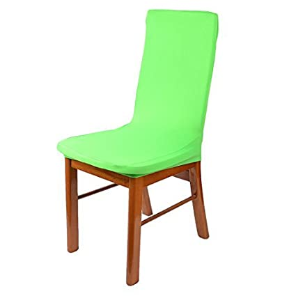Spandex Festa Casamento Casa DealMux Elastic reutilizável lavável Chair Seat Cover Protector Verde