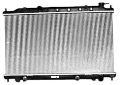 2004 Nissan Altima Radiator - TYC 2415 Nissan Altima 1-Row Plastic Aluminum Replacement Radiator