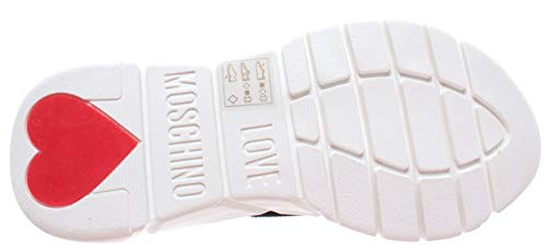 Infilare Sca Donna Calzino nod Nero running35 Moschino Sneaker Love YwqfTxW