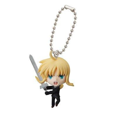 Amazon.com: Fate Zero Saber Swing Llavero Figura Ver 2: Toys ...