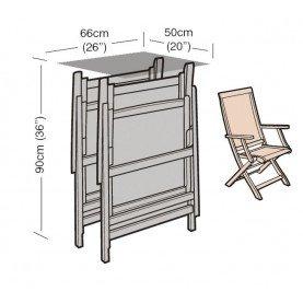 Garland Bronze Reclining Chair Cover