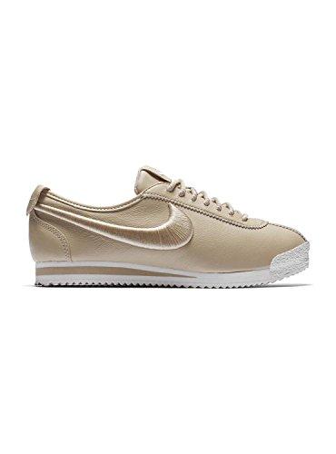 Nike Women's Classic Cortez Sneaker 72 SI OATMEAL/OATMEAL-IVORY (Large Image)